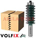 Фреза для сращивания древесины (микрошип) (микрошип) по ширине и длине по дереву VOLFIX FZ-120-516 d12, фото 2