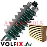Фреза для сращивания древесины (микрошип) (микрошип) по ширине и длине по дереву VOLFIX FZ-120-516 d12, фото 3