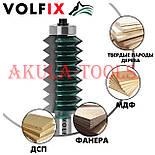 Фреза для сращивания древесины (микрошип) (микрошип) по ширине и длине по дереву VOLFIX FZ-120-516 d12, фото 6