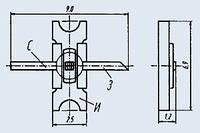 Транзистор полевой 3П604 АБвГ