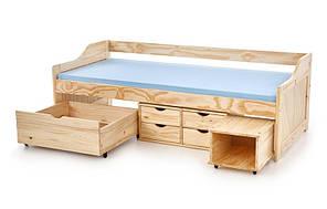 Кровать детская MAXIMA 2 Halmar 96x209 Сосна, фото 2