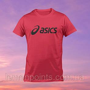 Футболка мужская спортивная Asics красная