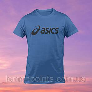 Футболка мужская спортивная Asics синяя