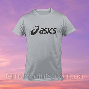 Футболка мужская спортивная Asics серая