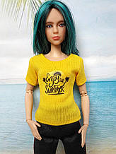 Одежда для кукол Барби - футболка