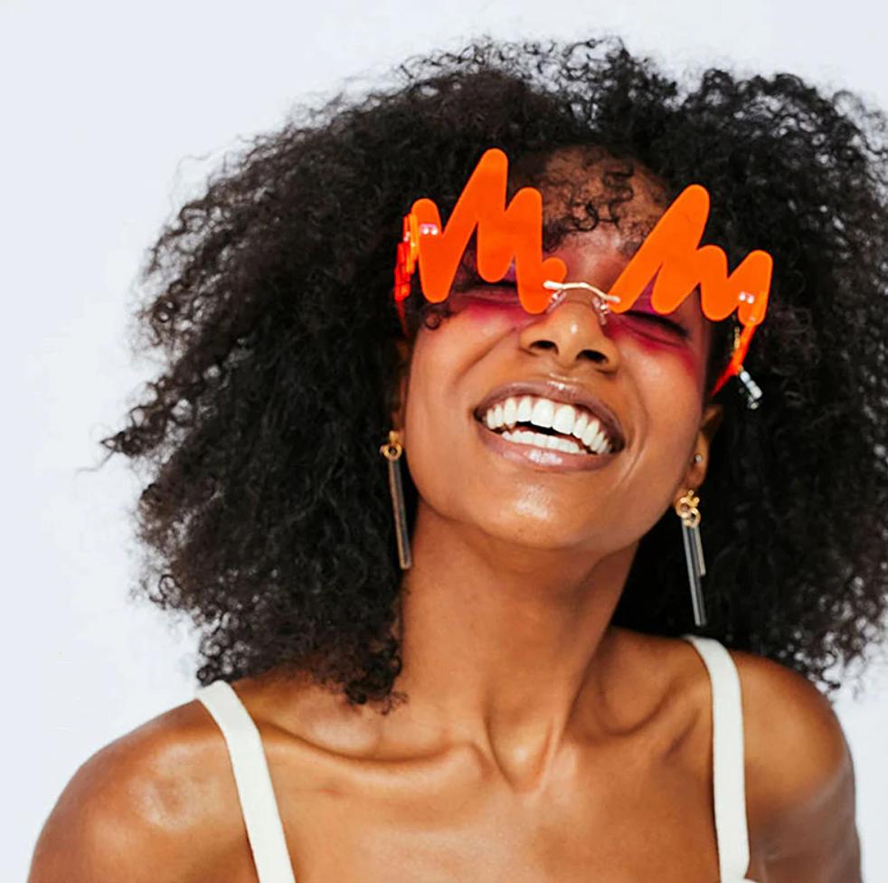Солнцезащитные очки на рейв женские мужские очки унисекс оригинальные эксклюзивные