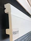 Плінтус з дюрополімер під фарбування 8 см Плинтэкс ART, фото 2