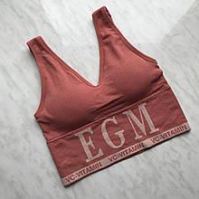 Топ с надписью EGM (A-B)