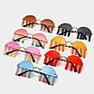 Солнцезащитные очки с подвесками каплями на рейв женские мужские очки унисекс оригинальные эксклюзивные, фото 9