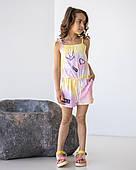Комбинезон для девочки, 116-134 рр. Артикул: EL1913-розовый