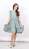 Платье для девочек, 140-164 рр.  Артикул: JP1291-фисташка