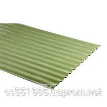 Зеленый 2,0х0,91м. Еврошифер Guttanit (Гуттанит)