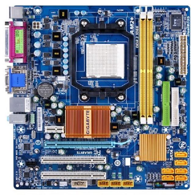 Плата AMD, sAM2 AM3 GIGABYTE GA-MA74GM-S2H УЦІНКА-МЕРЕЖУ ! c HDMI Поним 2-4 ЯДРА ПРОЦЫ X2-X4 до PHENOM II X4 945