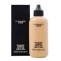 Тональная основа для лица и тела MAC Studio Face and Body Foundation, 120 ml (ТОН С4)