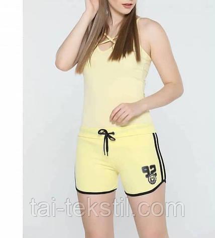 Шорты молодежные женские спорт т.м NAZAR Турция S,M,L,XL цвета в ассортименте, фото 2