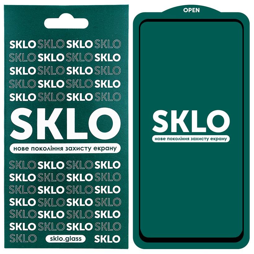 Защитное стекло Samsung A21s A217 SKLO 5D черное