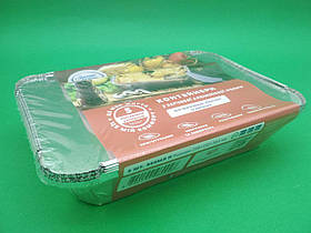 Комплект контейнеров алюминиевых, прямоугольных с крышками 960мл SP64L 5шт (1 пачка)