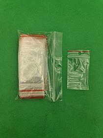 .Пакет з замком zipp 4x6 польські(100шт) (1 пач.)