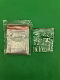 .Пакет з замком zipp 10x10 польські(100шт) (1 пач.)