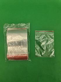 .Пакет з замком zipp 10x12 польські(100шт) (1 пач.)