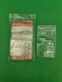 .Пакет з замком zipp 10x15 польські(100шт) (1 пач.)