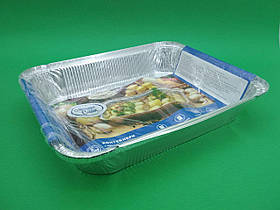 Комплект контейнеров алюминиевых, прямоугольных 3100мл R98G/2шт (1 пачка)