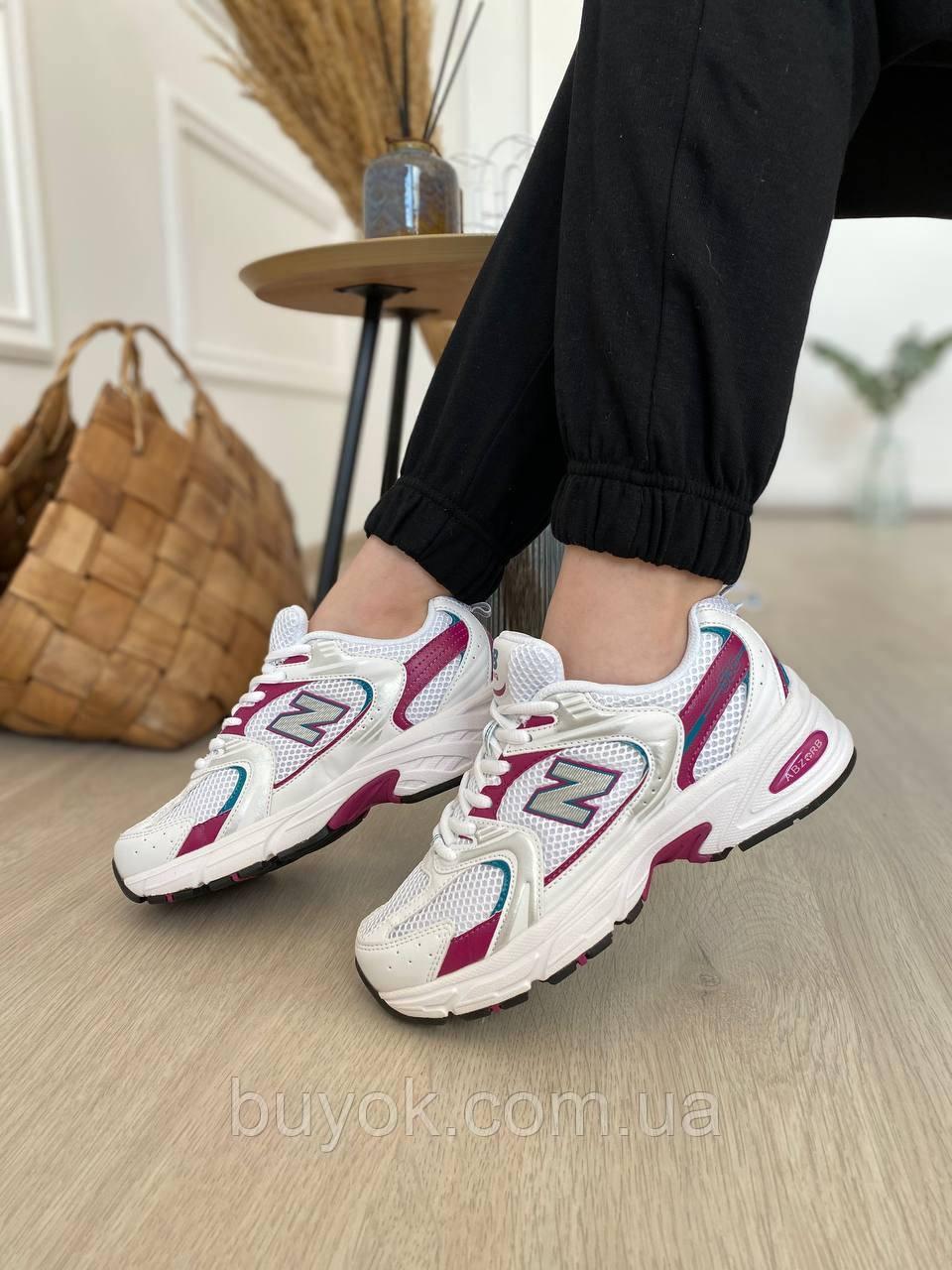 Женские кроссовки New Balance 530 White Pink MR530SF