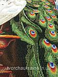 ОСП-43 Павлины в саду. Схема для вышивки бисером 120 х 65 см., фото 3