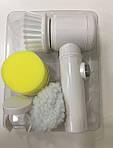 Щетка для уборки электрическая Magic Brush 5 в 1 з насадками - быстрая уборка квартиры