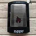 Зажигалка бензиновая Zippo Пламя, фото 4