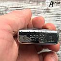 Зажигалка бензиновая Zippo Пламя, фото 8