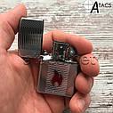 Зажигалка бензиновая Zippo Пламя, фото 7
