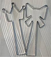 Форма вырубка теста для пряников и печенья Бантик и корона, 6 штук