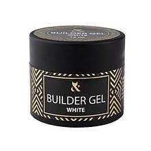 Гель F.O.X строительный Builder Gel Cover White, белый, 15 мл
