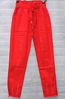 """Штани жіночі літні однотонні, розміри 25-30 """"СЕНДІ"""" купити недорого від прямого постачальника"""