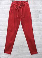 """Штани жіночі літні однотонні, розміри 25-30 (2цв) """"СЕНДІ"""" купити недорого від прямого постачальника"""