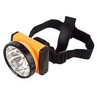 Налобный фонарь мощный JY-8320, водонепроницаемый | Светодиодный фонарик на голову для работ, интенсивный