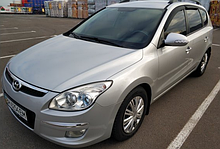 Ветровики Hyundai I30 I Wagon 2007-2011 Cobra Tuning