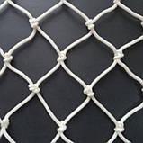 Сетка заградительная капроновая д 4 ячейка 15 сетка оградительная защитная сетка., фото 2