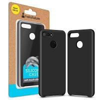 Чехол для моб. телефона MakeFuture Silicone Case Xiaomi Mi8 Lite Black (MCS-XM8LBK)