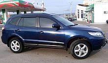 Ветровики Hyundai Santa Fe II 2006-2012 Cobra Tuning