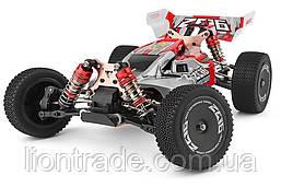 Машинка на радіоуправлінні 1:14 баггі WL Toys 144001 4WD (червоний)