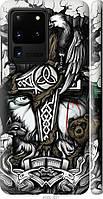 "Чехол на Samsung Galaxy S20 Ultra ""Тату Викинг"""