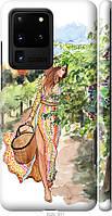 """Чехол на Samsung Galaxy S20 Ultra """"Девушка Лето"""""""
