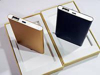 Павербанк Супер тонкий Power Bank Xiaomi Mi Slim 12000 mAh (черный)