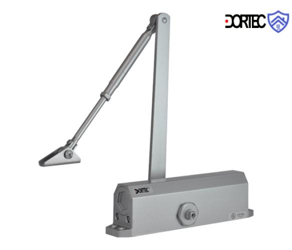 Доводчик DT-65 усилие 85-120 кг размер 223x45x72 , серебро