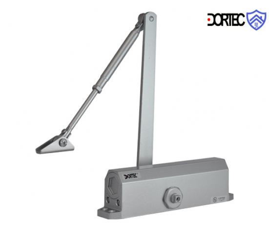 Доводчик DT-65 усилие 85-120 кг размер 223x45x72 , серебро, фото 2