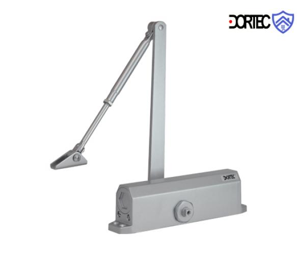 Доводчик DT-536 усилие 65-150 кг размер 248x45x72, серебро