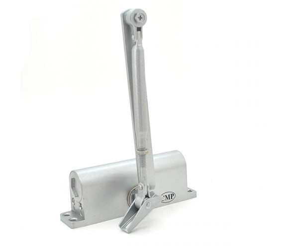 Доводчик MRC-2545, усилие 25-45 кг, серебро