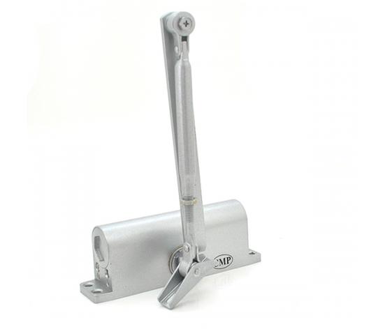 Доводчик MRC-2545, усилие 25-45 кг, серебро, фото 2